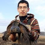 今津健志(カメハンター)のWiki経歴や公務員年収、学歴や結婚、カミツキガメの捕獲方法(動画)が気になる!