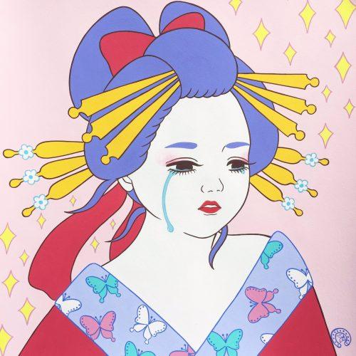 竹井千佳 画家 の作品画像やwiki経歴 値段や個展 彼氏や渡辺直美との関係は