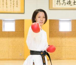 山田沙羅(空手)の経歴や成績、彼氏や高校・大学も気になる!【動画あり】