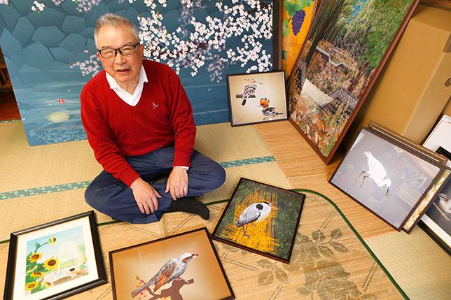 堀内辰男のエクセル作品絵の画像や経歴、個展や描き方、販売は?絵画教室や海外の反応も気になる【ソノサキ】